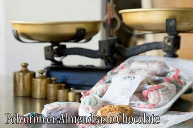 Polvorón de almendras o chocolate de Panadería Manolín - Sabor Granada