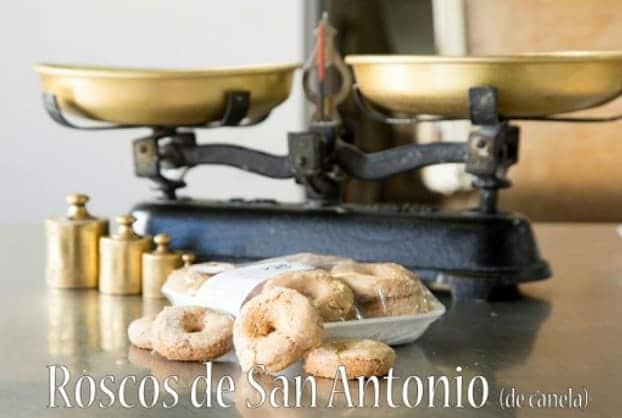 Roscos de San Antonio de Panadería Manolín - Sabor Granada