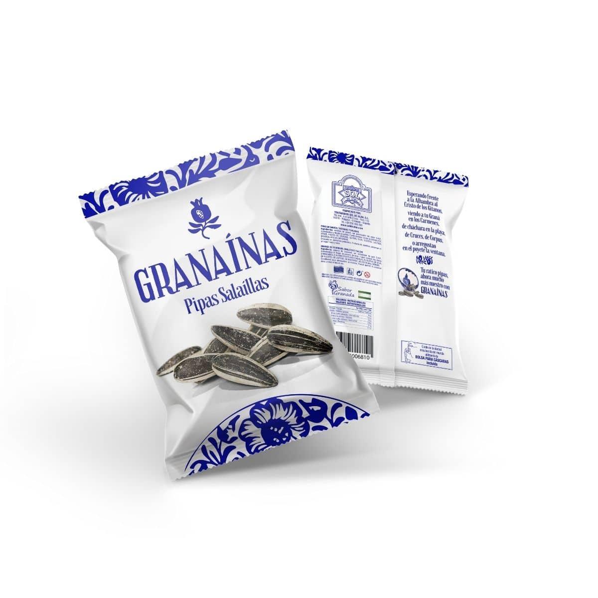 Pipas Granaínas Salaíllas de Tostaderos Sol de Alba - Sabor Granada