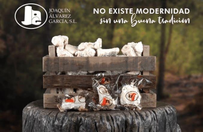 Salazones Cárnicos de Joaquín Álvarez García SL en una caja de madera - Sabor Granada