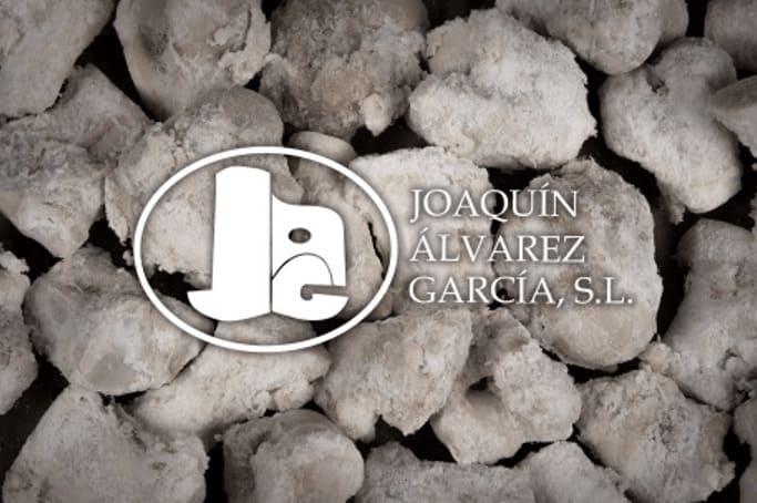 Banner de Joaquín Álvarez García con salazones cárnicos de fondo - Sabor Granada