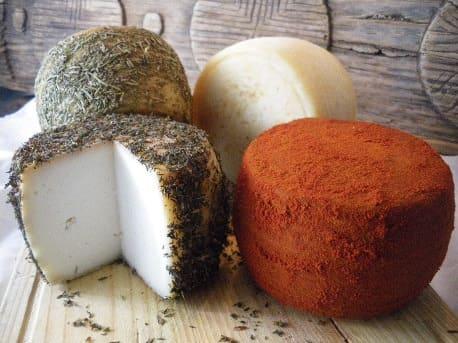 Variedad de quesos Las RRR - Sabor Granada