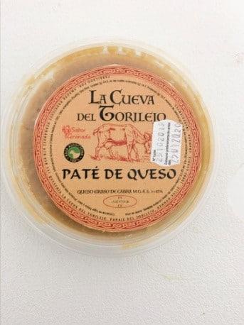 Paté de queso de La Cueva del Torilejo - Sabor Granada