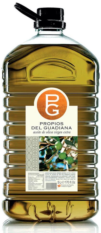 Garrafa de AOVE Propios del Guadiana de 5 litros - Sabor Granada