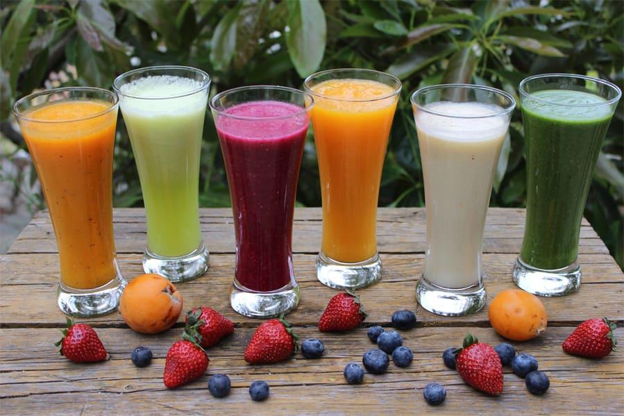 Variedad de smoothies de Chirimvita - Sabor Granada