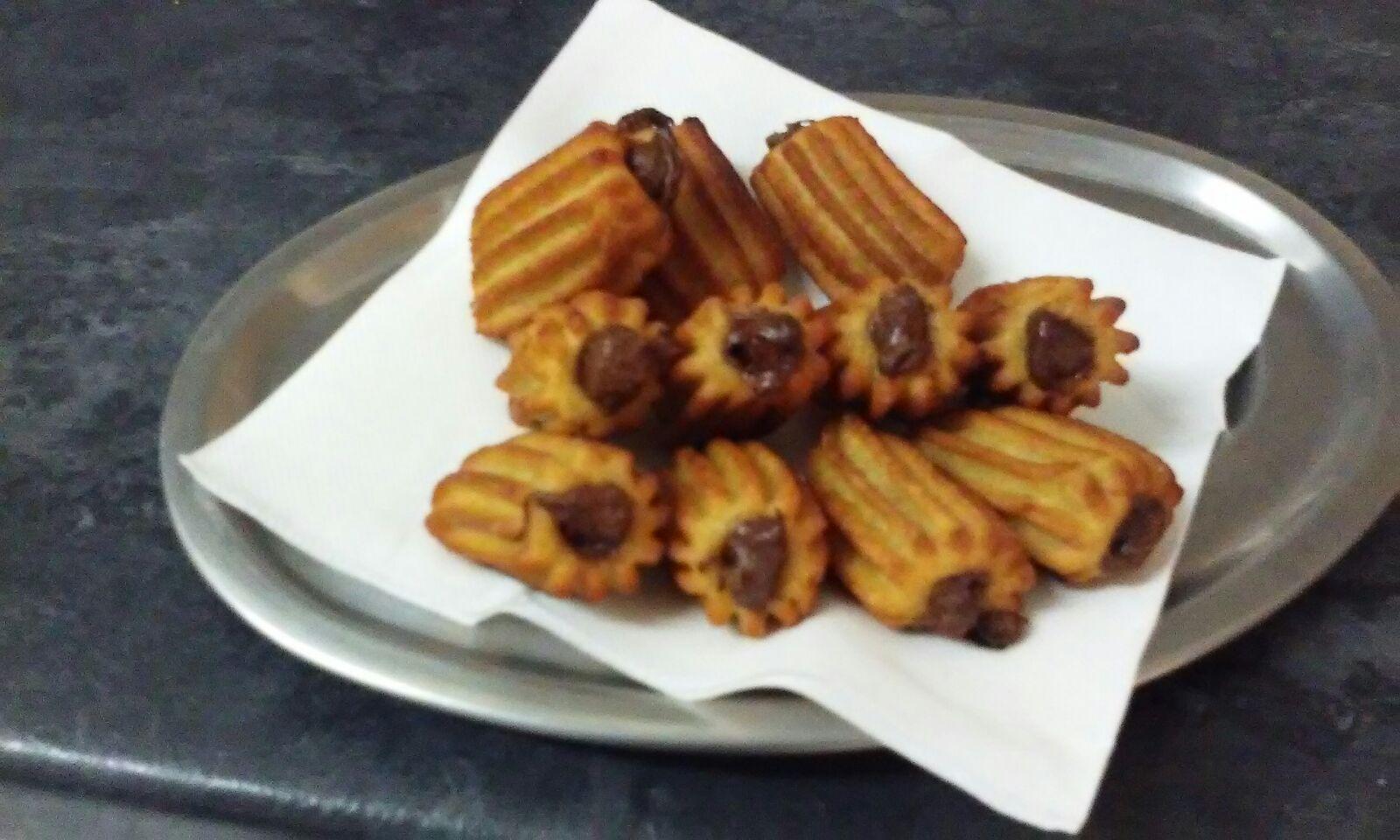 Churros rellenos de chocolate fritos ultracongelados de Churros Guillén - Sabor Granada