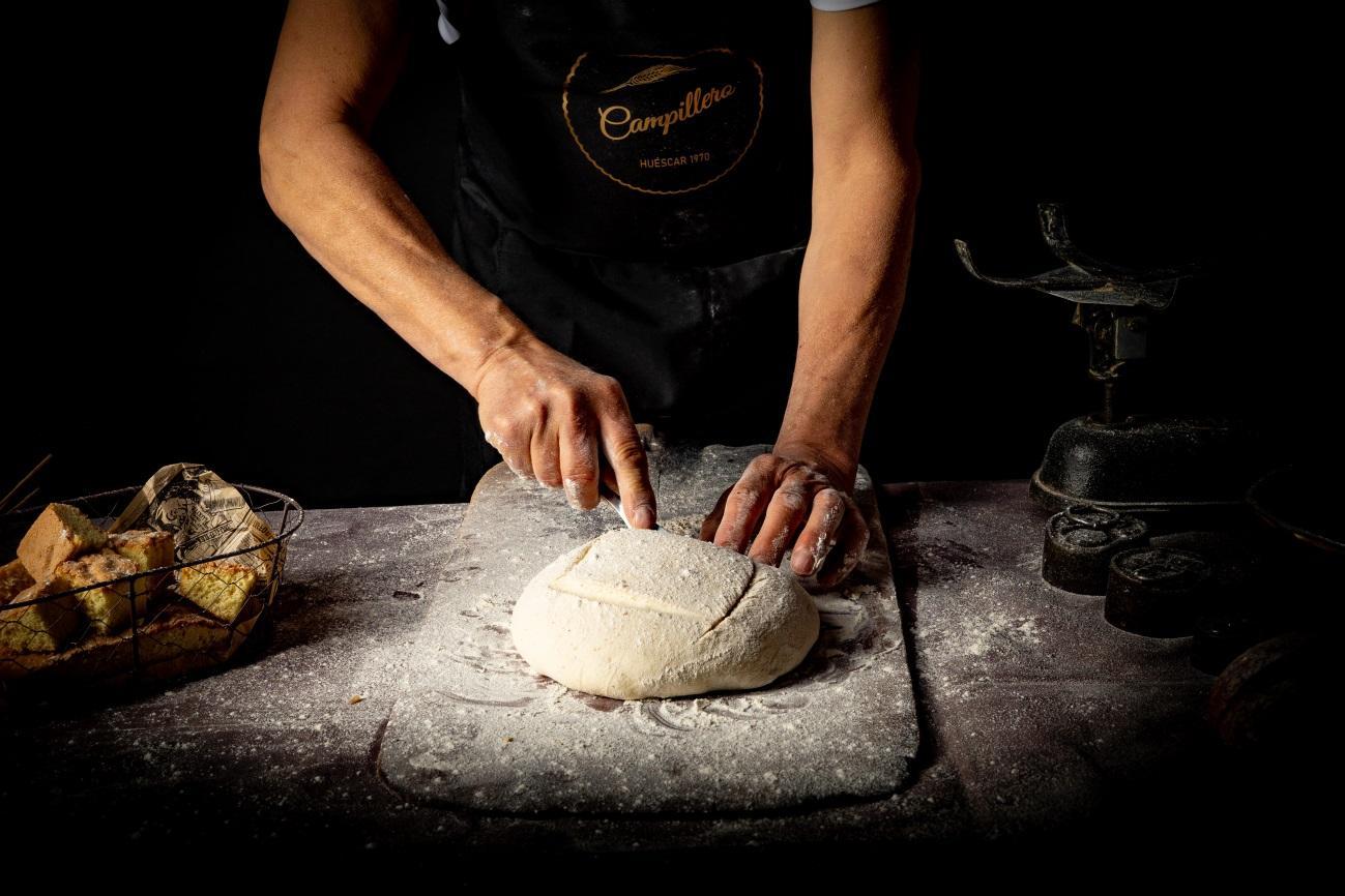 Masa de pan de Panadería Campillero - Sabor Granada