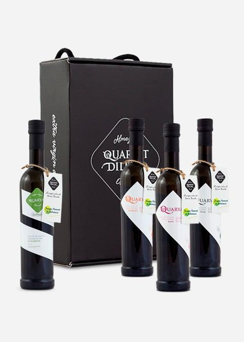 Pack de botellas de AOVE Quaryat Dillar - Sabor Granada