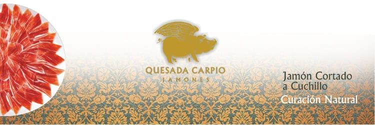 Banner de Jamones Quesada Carpio - Sabor Granada