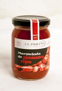 Mermelada de pimientos rojos La Pauleña - Sabor Granada