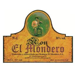logo de Ron El Mondero - Sabor Granada