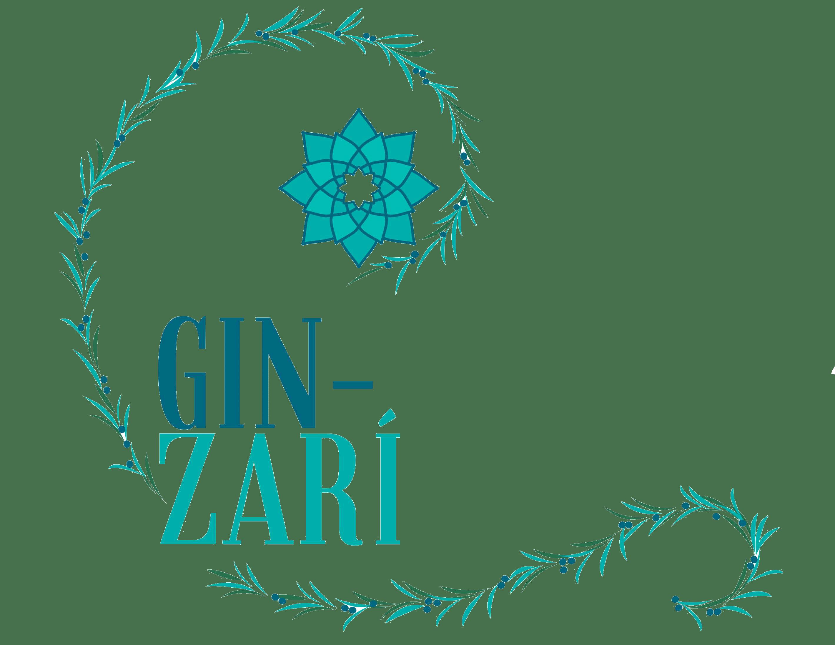 logo Gin-Zarí transparente - Sabor Granada