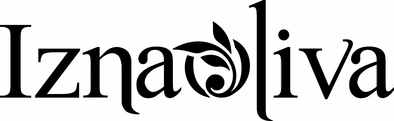 Logo Iznaoliva en blanco y negro - Sabor Granada