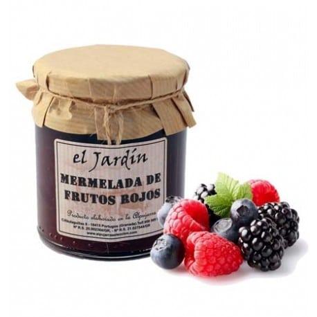 Mermelada de frutos rojos El Jardín - Sabor Granada
