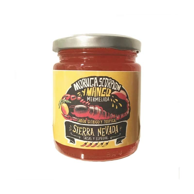 Mermelada Moruga Scorpion con mango de Salsas y Especias Sierra Nevada - Sabor Granada
