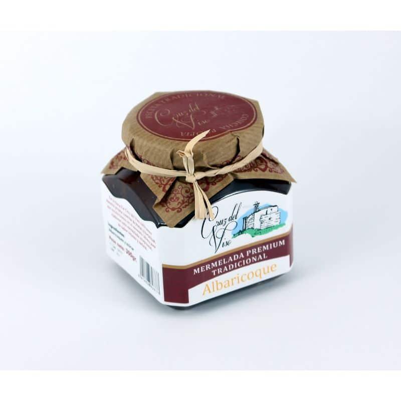 Mermelada premiun artesanal de albaricoque de Cruz Viso - Sabor Granada