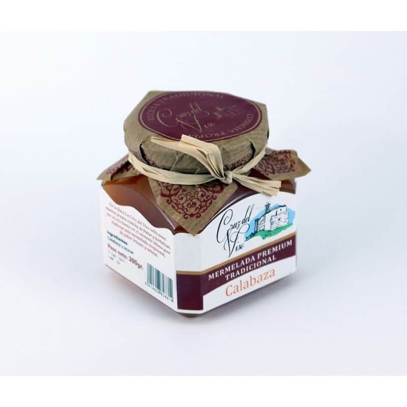 Mermelada premiun artesanal de calabaza de Cruz Viso - Sabor Granada