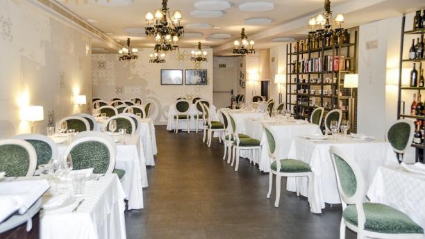 Vista del comedor del Restaurante Oleum - Sabor Granada