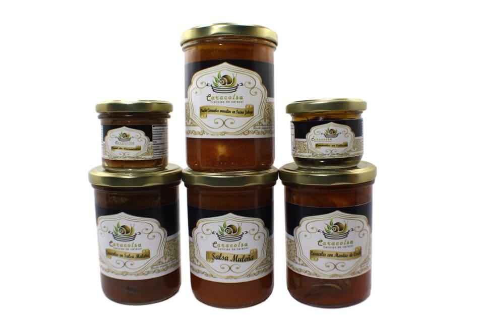 Pack de caracoles gourmet de Caracolsa - Sabor Granada
