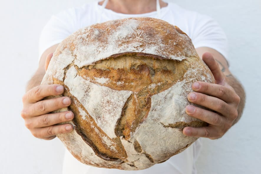 Pan de la panadería Pan de mi Pueblo - Sabor Granada