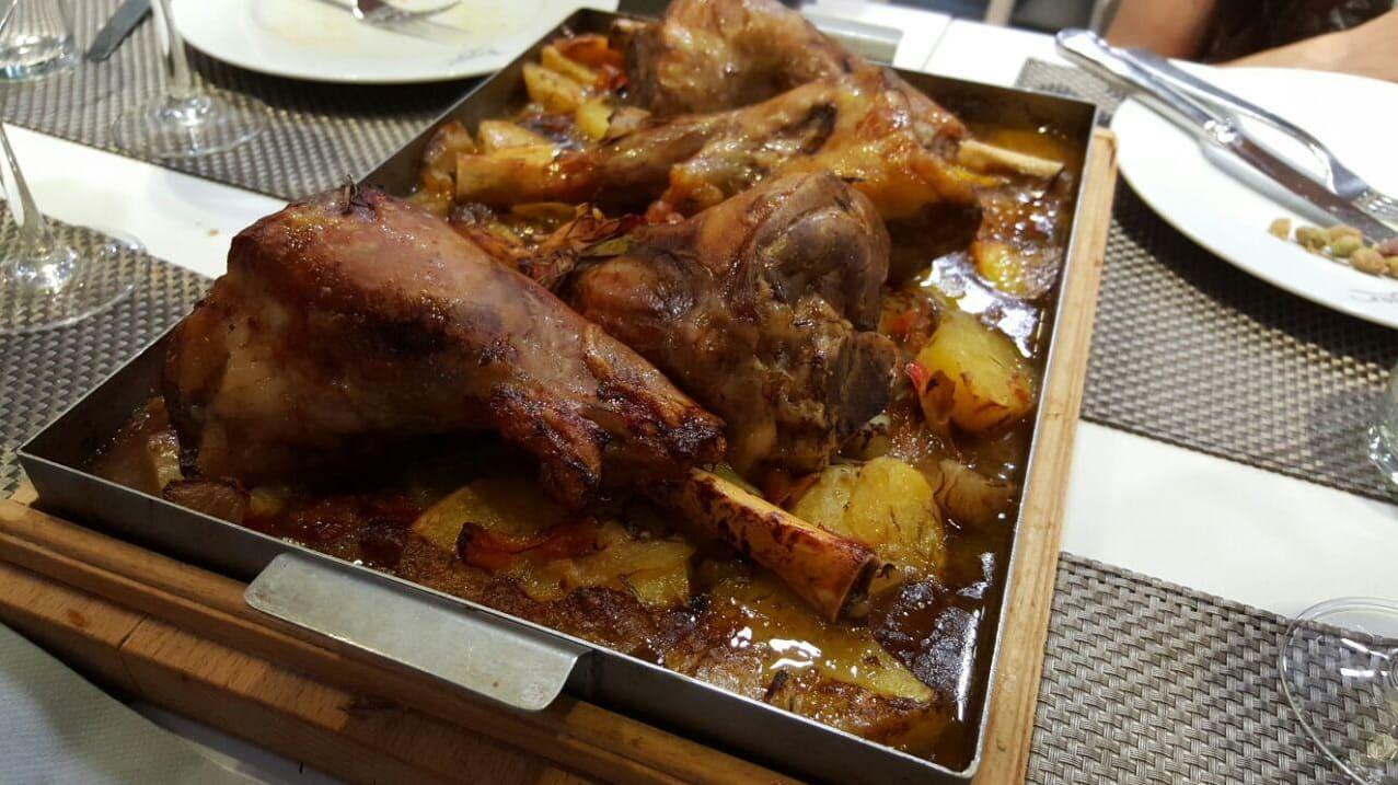 Plato de carne del Restaurante Oleum - Sabor Granada