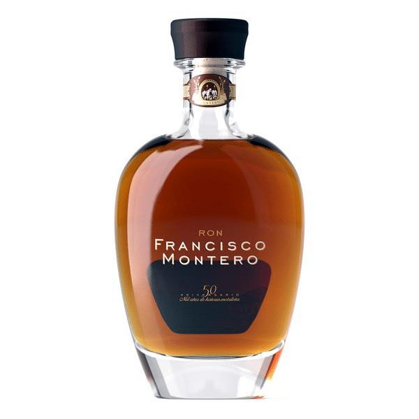 Botella de ron Francisco Montero 50 aniversario - Sabor Granada