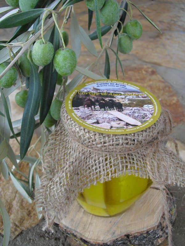 Queso curado en aceite El Aserradero - Sabor Granada