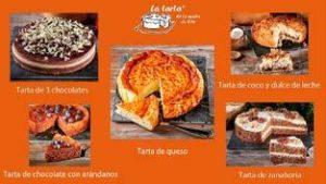 Varias tartas de La tarta de la madre de Cris - Sabor Granada
