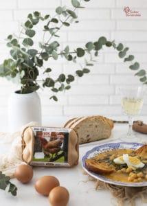 Huevos Garrido para hacer el potaje de vigilia - Sabor Granada