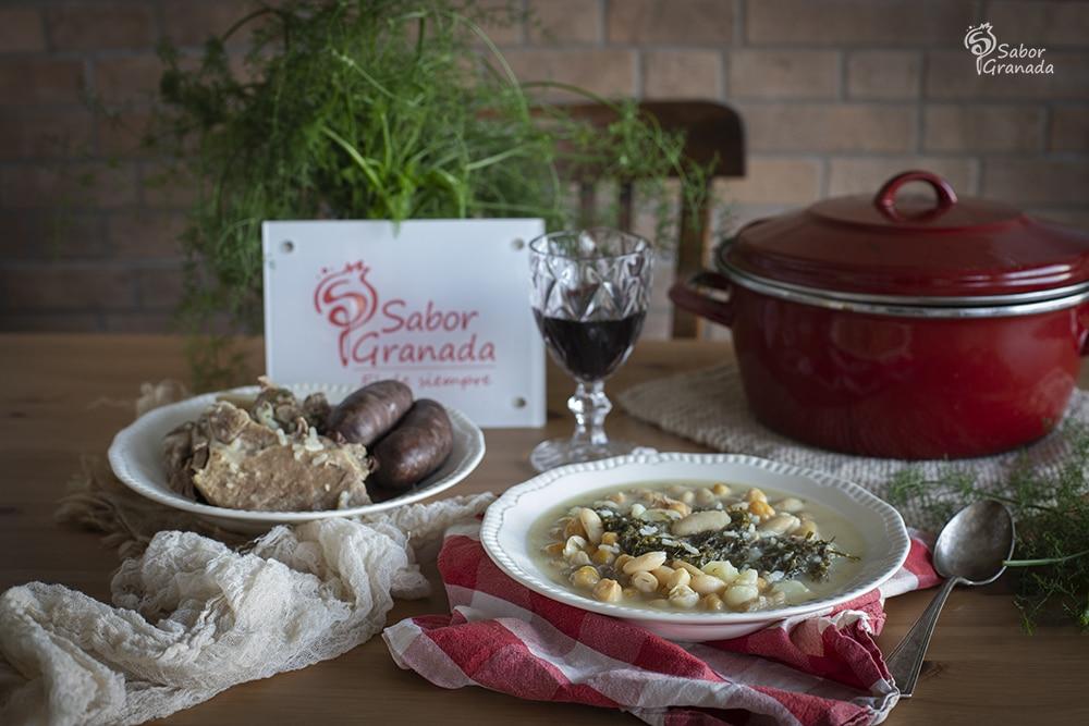 Receta de puchero de hinojos - Sabor Granada