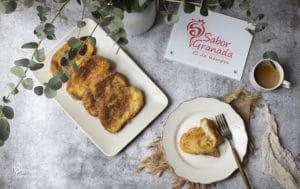 Receta para hacer torrijas tradicionales - Sabor Granada