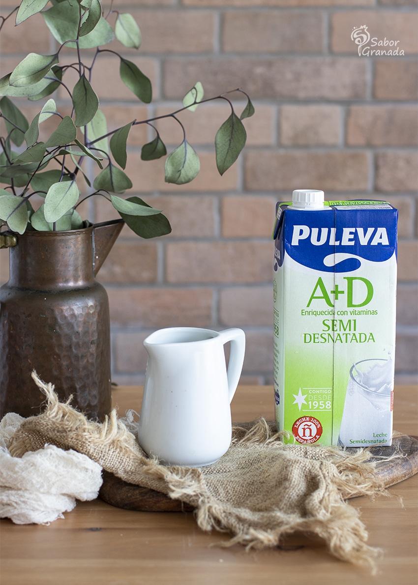 Leche Puleva para hacer magdalenas de queso y romero - Sabor Granada