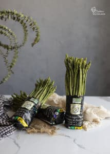 Espárragos de Huétor Tajar para hacer la sopa - Sabor Granada