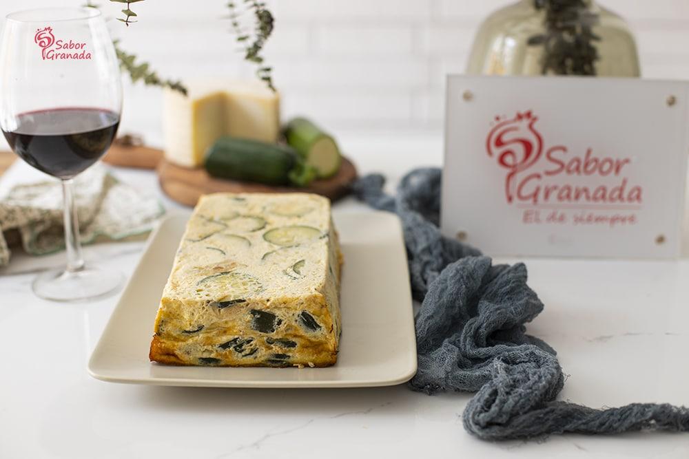 Receta de pastel de calabacín - Sabor Granada