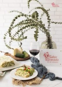 Plato de pastel de calabacín - Sabor Granada