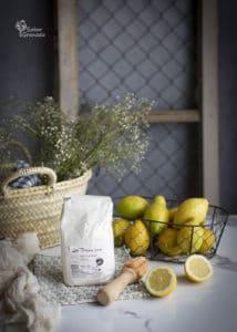 Harina de trigo Las Torcas para hacer una tarta de limón y merengue - Sabor Granada