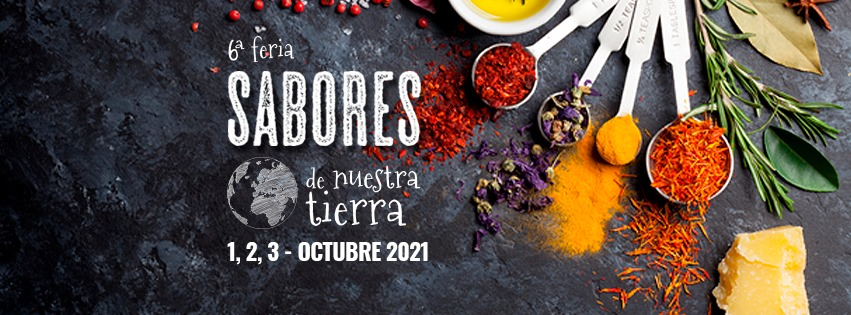 Cartel de la Feria Sabores de Nuestra Tierra 2021 - Sabor Granada