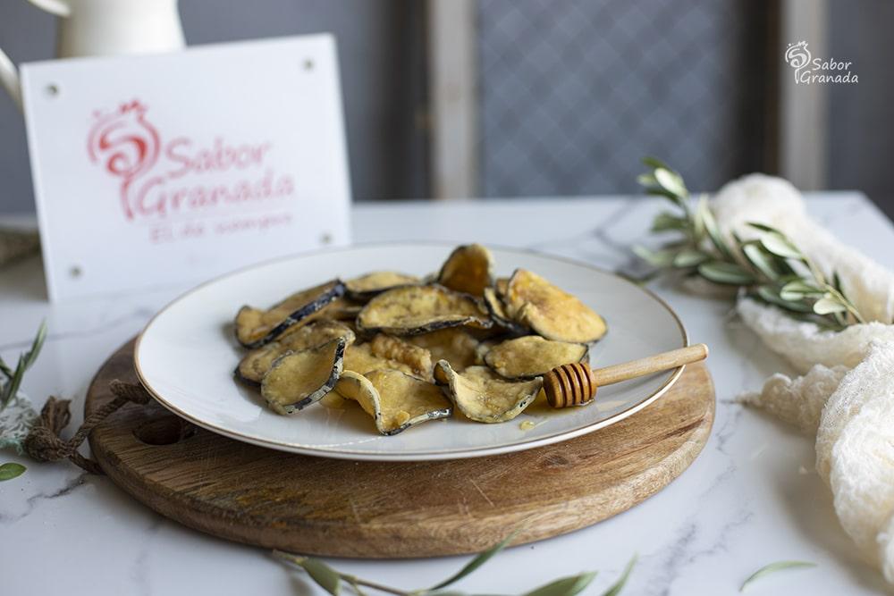 Receta para hacer berenjenas con miel - Sabor Granada