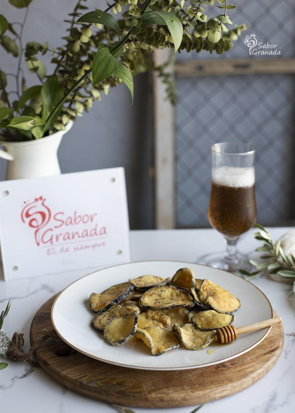 Berenjenas con miel - Sabor Granada