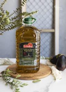 AOVE Echioliva para hacer berenjenas con miel - Sabor Granada