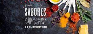 Banner de la Feria Sabores de Nuestra Tierra 2021 - Sabor Granada