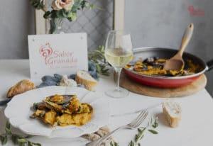Receta para hacer mejillones al ron - Sabor Granada
