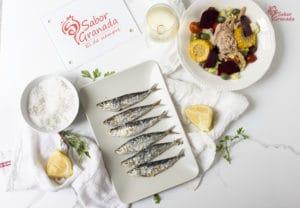 Receta para hacer sardinas al horno - Sabor Granada