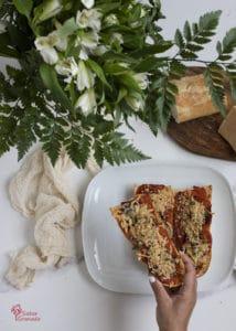 Paninis caseros listos para comer - Sabor Granada