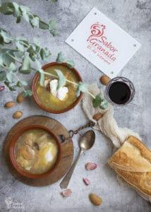 Sopa de ajos - Sabor Granada
