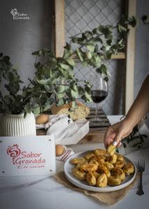 Plato de huevos tontos - Sabor Granada